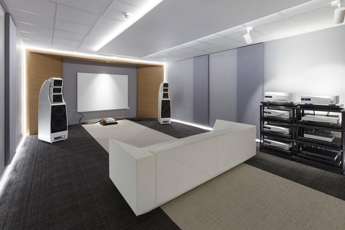 dCS Listening room